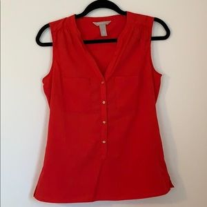 Red Banana Republic blouse